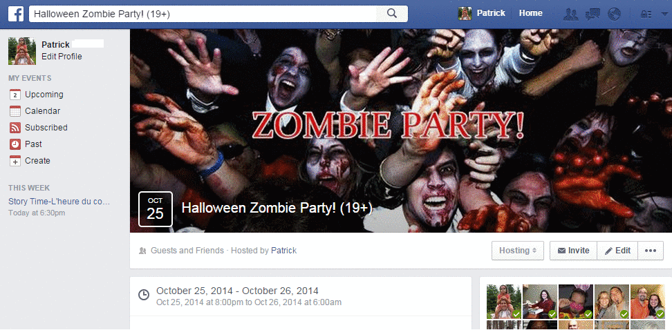 zombie-party-Facebook-Event